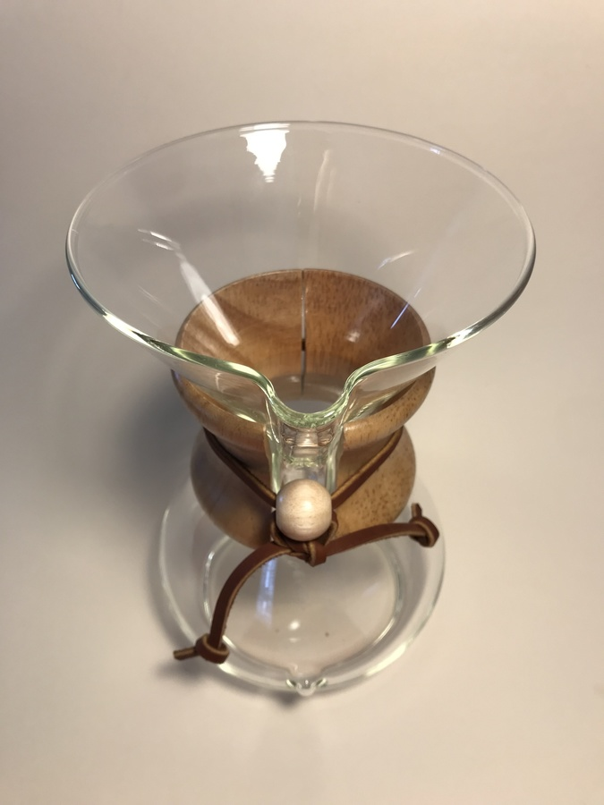 Chemex 6 cup (Wood neck)