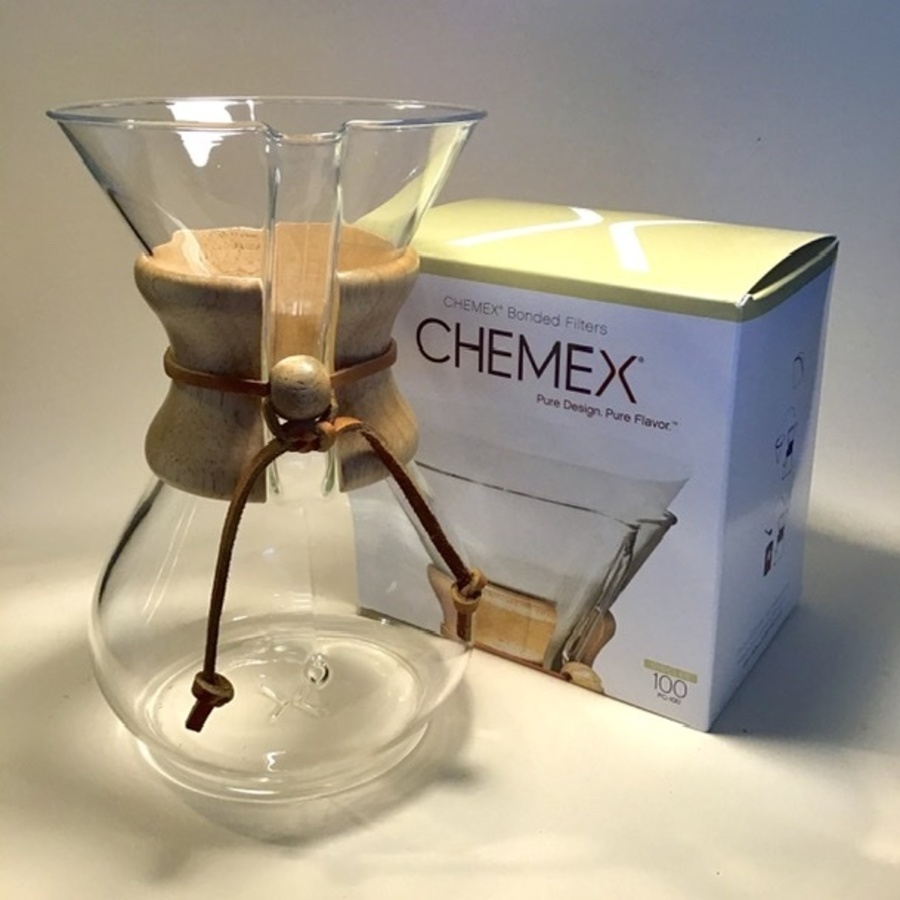 6 Cup Chemex + Filters